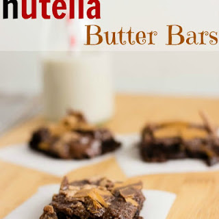 Nutella Butter Bars.