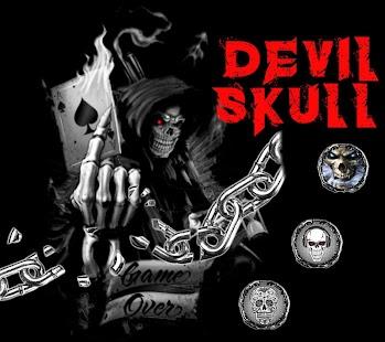Devil Death Gun Skull Theme - náhled