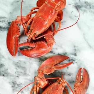 Boiled Lobster in Court Bouillon and Elderflower Liqueur