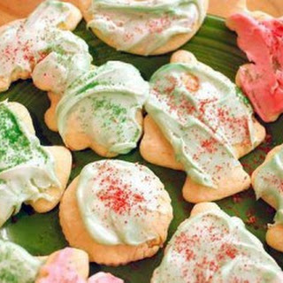 Sour cream Christmas cut-out cookies