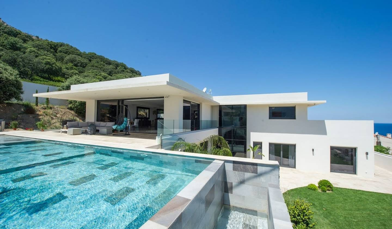 Villa avec piscine et jardin Algajola