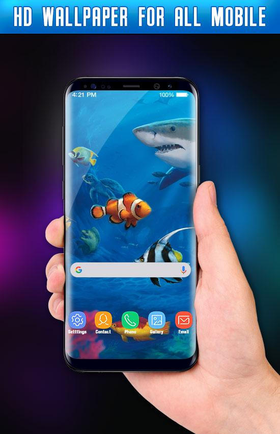 Fish Live Wallpaper 3d Aquarium Background Hd Pro Apk