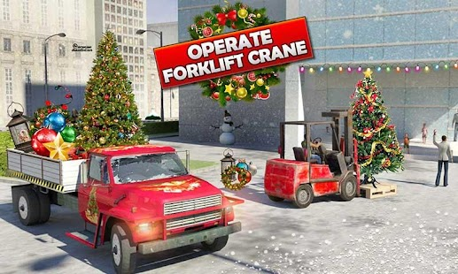 Home Depot: Decor Truck Simulator Christmas Games - náhled
