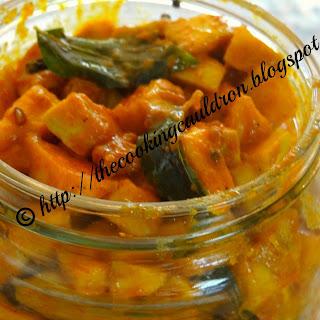 Raw Mango Pickle Kerala Style Recipe