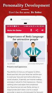 App Make Me Better🤵 - Personality dev. & Motivation APK for Windows Phone