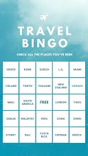 Travel Bingo - Instagram Bingo  item