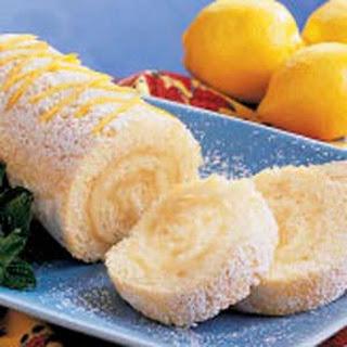 Lemon Cake Roll.