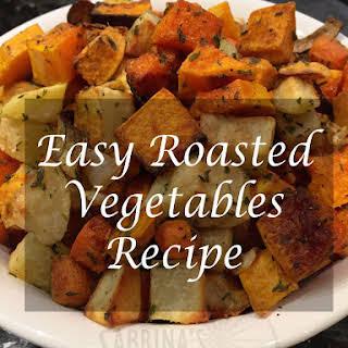 Easy Roast Vegetables.