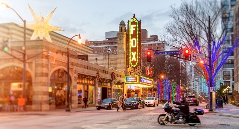 Fox Theatre in Midtown, Atlanta