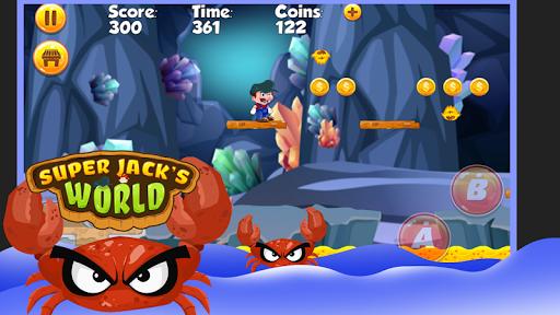 Super Jack's World - Super Jungle World screenshot 8