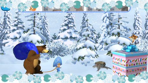 Masha and The Bear: Xmas shopping Apk 1