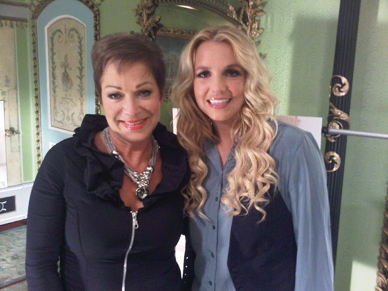 Photo: Hanging out with Denise from Loose Women :) -Brit