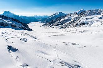 Photo: Aletschgletscher, Switzerland