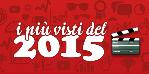 Video Youtube Italia: i più visti del 2015