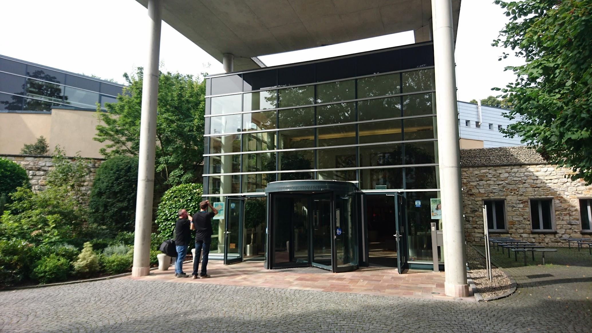 Carolus Thermen Bad Aachen Eingangsbereich