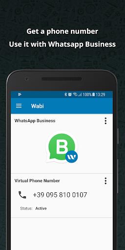 Wabi - Phone Number for WhatsApp Business 1.1.2 screenshots 1