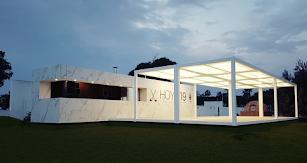 Restaurante modular, uno de los trabajos de Nevo.