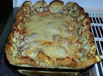 Meatball Sandwich Casserole
