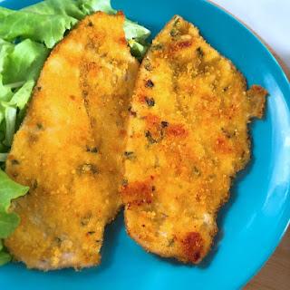 Breaded Chicken Cutlets - Italian Style.