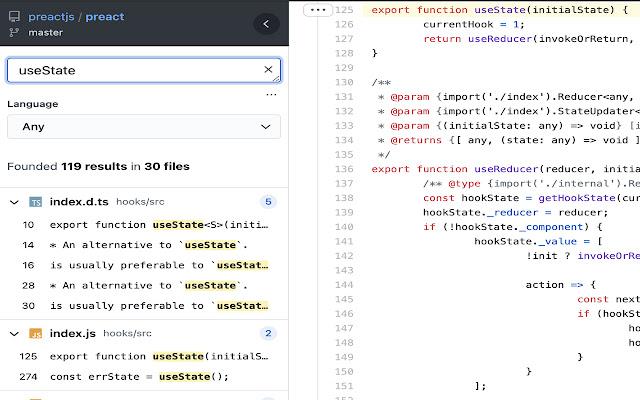 Gineko - Github code search