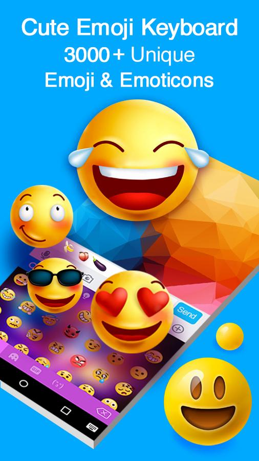Kika Keyboard - Cool Fonts, Emoji, Emoticon, GIF- screenshot