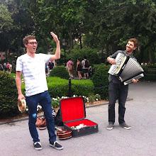 Photo: Tristan and Marc @ Washington Square Park