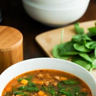 Spinach Sweet Potato Soup Recipe
