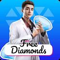 Free Diamonds - free in fire diamond icon