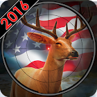 Охота на охоту на оленей Охотник на оленейснайпера icon