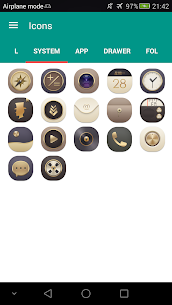 N Theme – Gold Icon Pack 1.6 [Mod + APK] Android 3