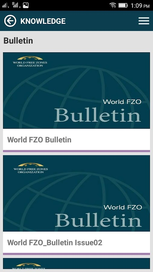 World Free Zones Organization- screenshot