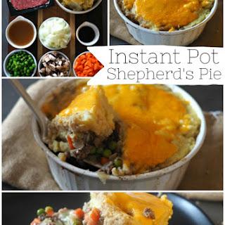 Instant Pot Shepherd's Pie.