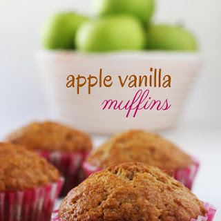 Apple Vanilla Muffins.