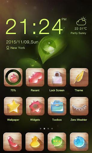 Sweet Dew Theme -ZERO Launcher