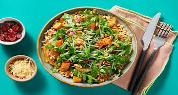 Roasted Veggie Farro Bowls Recipe | HelloFresh