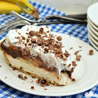 Chocolate Banana Cream Pie.