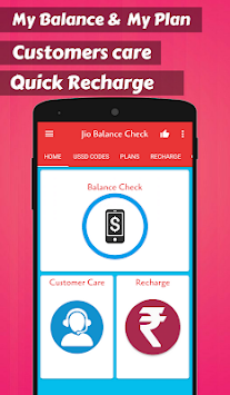 Mobile Balance & Recharge for Jio APK Latest Version Download - Free