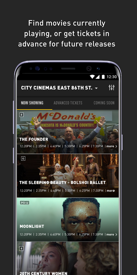 City Cinemas- screenshot