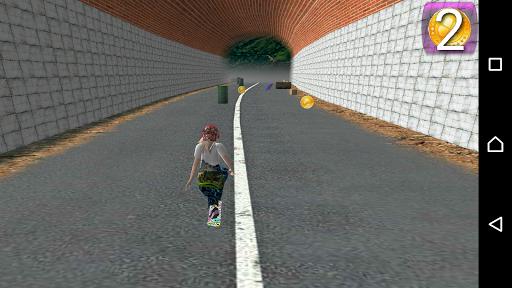 SkateBoarder Girl 1.3 {cheat|hack|gameplay|apk mod|resources generator} 3