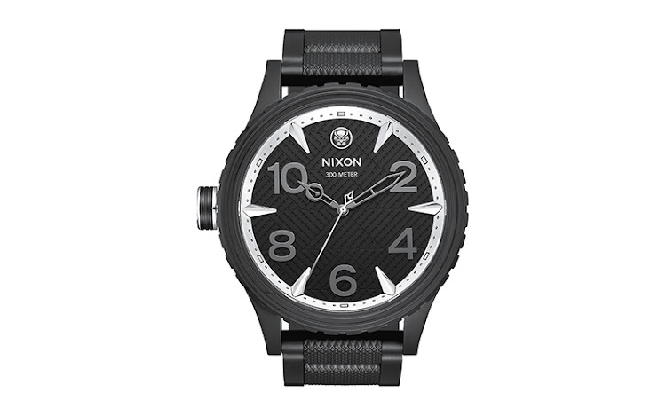 Marvel x Nixon 'The Black Panther 51-30' watch