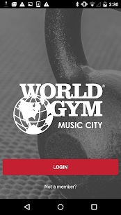 World Gym Music City- screenshot thumbnail