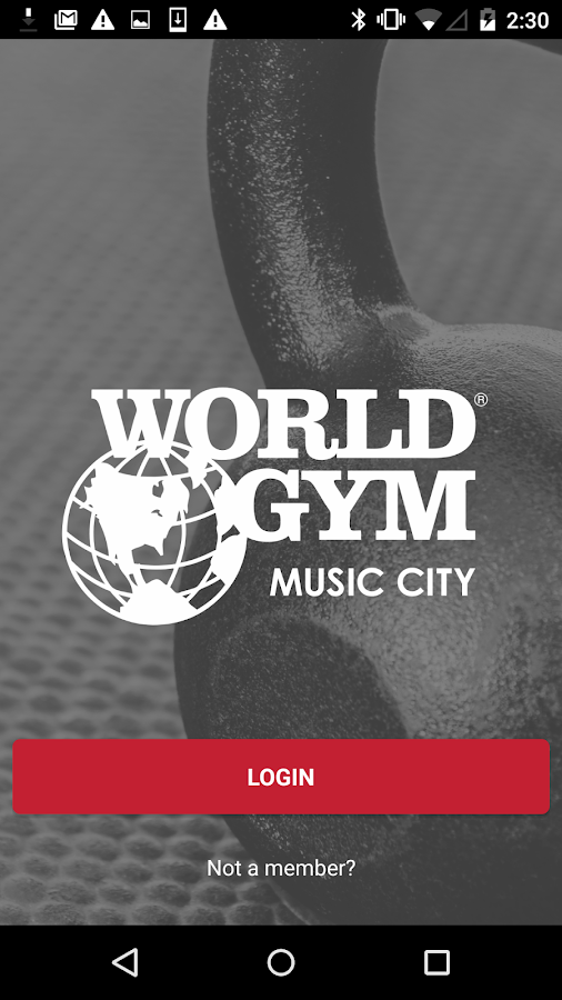 World Gym Music City- screenshot