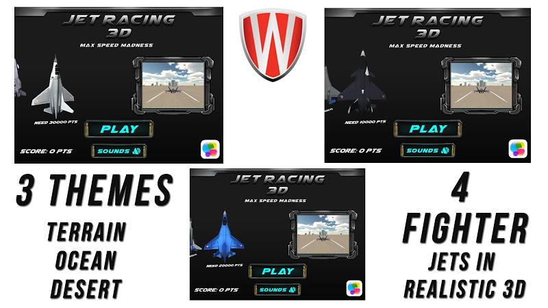 Скриншот Jet Racing 3D-MaxSpeed Madness