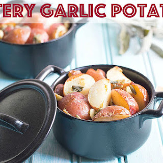 Garlic Butter Potatoes For Your Drooling Pleasure