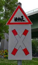 Photo: Die Kinderlok im Südpark Köln Foto: I.Lang
