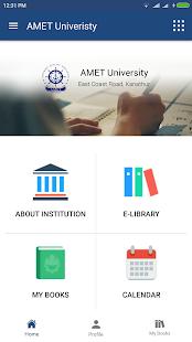 AMET University - náhled