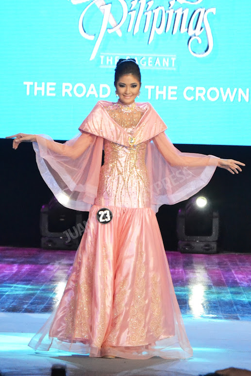 BB. PILIPINAS 2016 CANDIDATE NO. 23 ANGELA GENE VALDES DRESSED BY DANNY BOOC FOR THE NATIONAL COSTUME COMPETITION