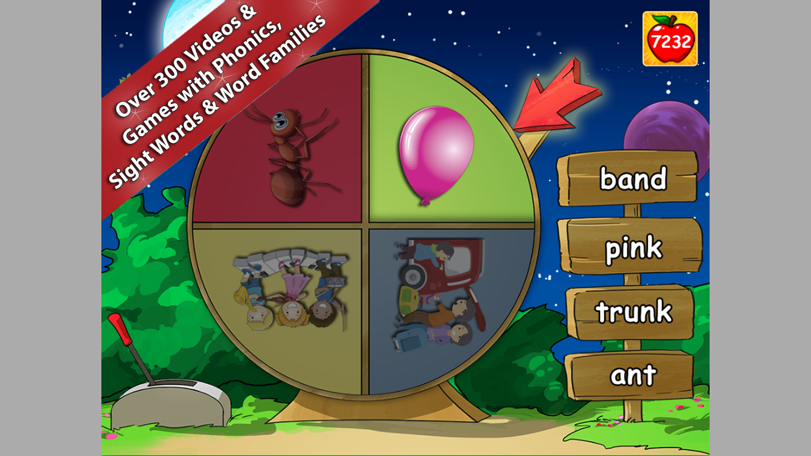 Red Apple Reading Level B2 -Park Planet- Members- screenshot