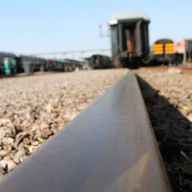 by Monya Nel - Transportation Railway Tracks