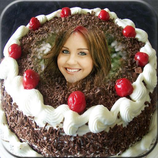攝影App Photo On Birthday Cake LOGO-3C達人阿輝的APP